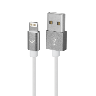 Дата кабель для iPhone USB-lightning, белый
